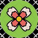 Flower Shape Leafs Icon