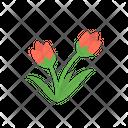 Flower Tulip Garden Icon
