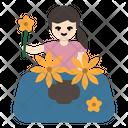 Flower Pot Bouquet Icon