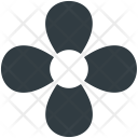 Flower Blooming Four Icon