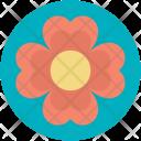 Flower Gift Present Icon