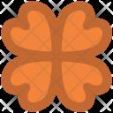 Flower Heart Petals Icon