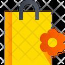 Flower Bag Garden Bag Paper Bag Icon