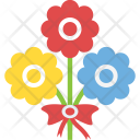 Flower Bouquet Nature Icon