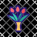 Bouquet Element Contour Icon