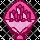 Flower Bouquet Botanical Valentines Icon