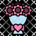 Flowerbouquet Bouquet Bride Icon