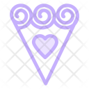 Flower Bouquet Love Icon