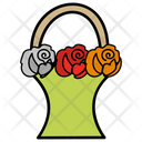Flower Bucket Icon
