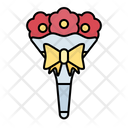 Flower Bucket Gift Icon