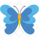 Flower Flying Insect Icon