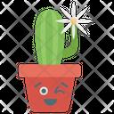 Flower Cactus Icon