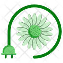Ecology Flower Plant Icon