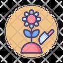 Flower Fertilize Flower Fertilizer Icon
