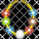 Flower Garlands Icon