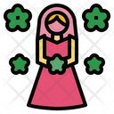 Flower Girl Icon