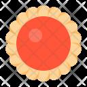 Flower jam cookie Icon