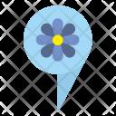 Flower Location Icon