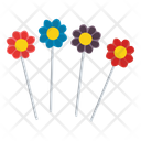 Flower Lollipop Gourmet Lollipops Fruit Lollipop Icon
