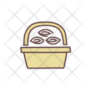 Flower Of Basket Icon