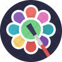 Flower Painting Icon