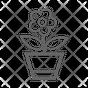 Flower Plant Icon