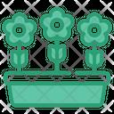 Growth Farm Agriculture Icon