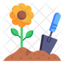 Flower Plantation Icon