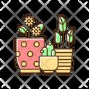 Floral Plant Houseplant Icon