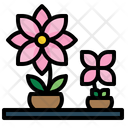 Farming And Gardening Botanic Flower Pot Icon