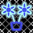 Flower Travel Tourist Icon