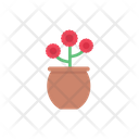 Flower Decoration Vase Icon