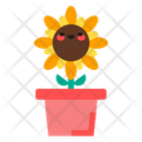 Flower Pot Flower Plant Icon