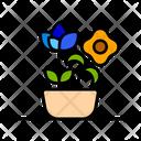 Flower Pot Pot Decoration Icon
