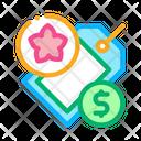 Flower Shop Price Icon