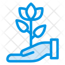 Flower Protection Icon