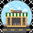 Flower Shop Shop Exterior Shop Building Icon