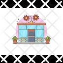 Flower Shop Flower Store Florist Shop Icon