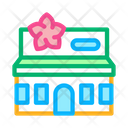 Flower Shop Building Icon
