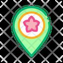 Flower Shop Location Icon