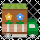 Flower Truck Flower Truck Icon