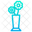 Flower Pot Plant Vase Icon