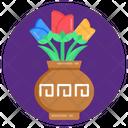 Flowers Jar Flowerpot Flower Vase Icon