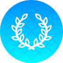 Flower Wreath Icon