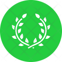 Flower wreath Icon