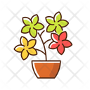 Flowering Tree Shrubs Icon