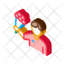 Business Courier Delivery Icon
