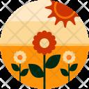 Flowers Sunrise Plant Icon