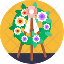 Flower Funeral Flowers Icon