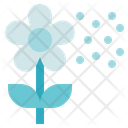 Allergy Medical Flowers Icon